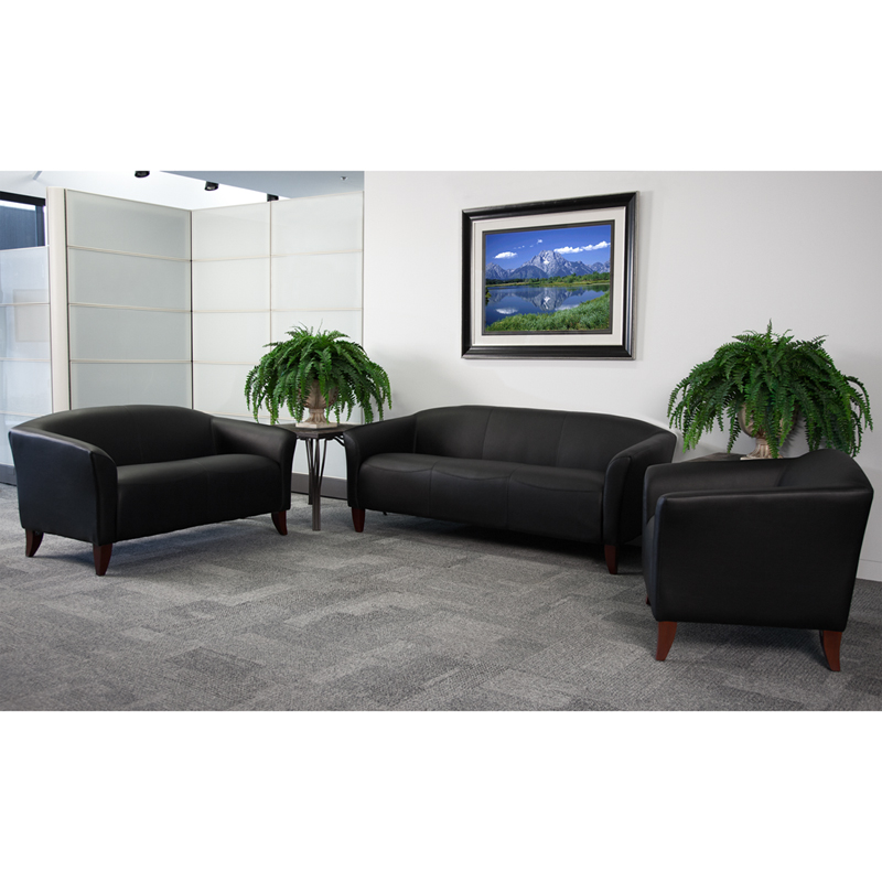 #3 - IMPERIAL SERIES RECEPTION SET IN BLACK