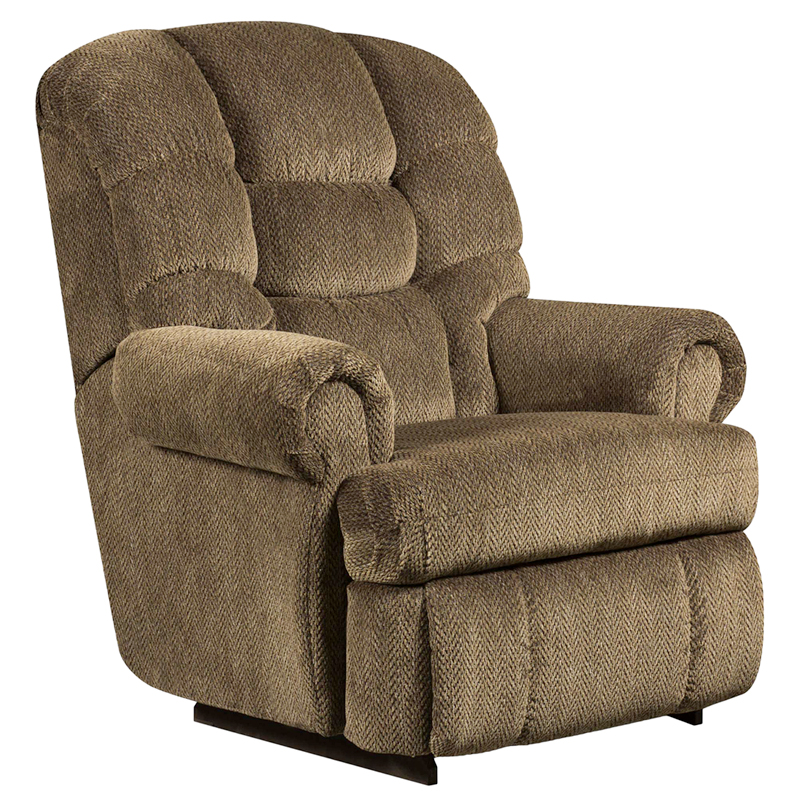 #1 - BIG AND TALL 350 LB. CAPACITY GAZETTE BASIL MICROFIBER RECLINER