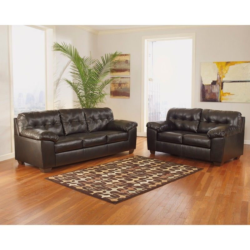 #36 - Signature Design by Ashley Alliston Living Room Set in Chocolate DuraBlend