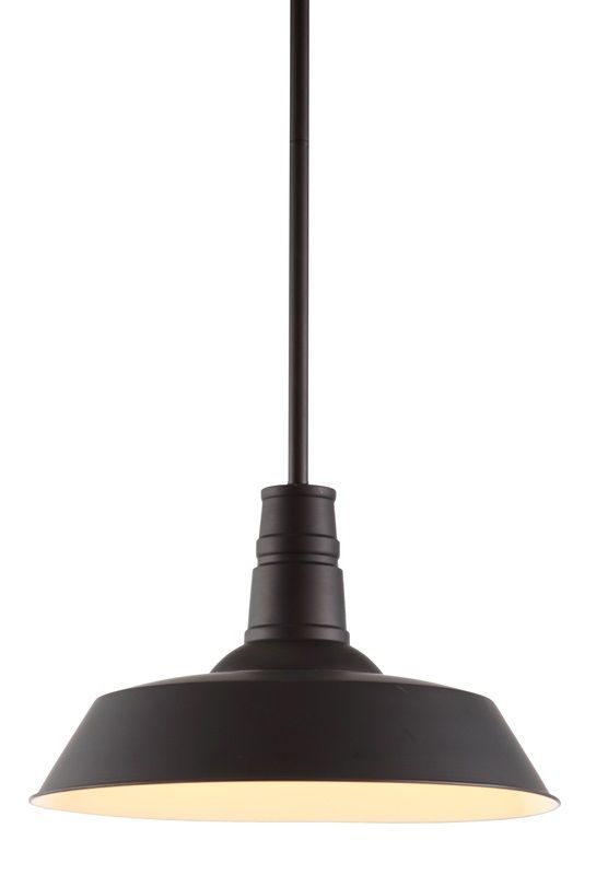 #109 - Industrial & Sophisticated Ceiling Lamp in Rust Black - Home Decor