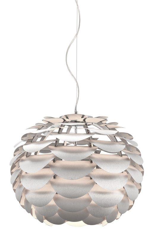 #110 - Modern Harmonious Sophistication Ceiling Lamp in Aluminum - Home Decor