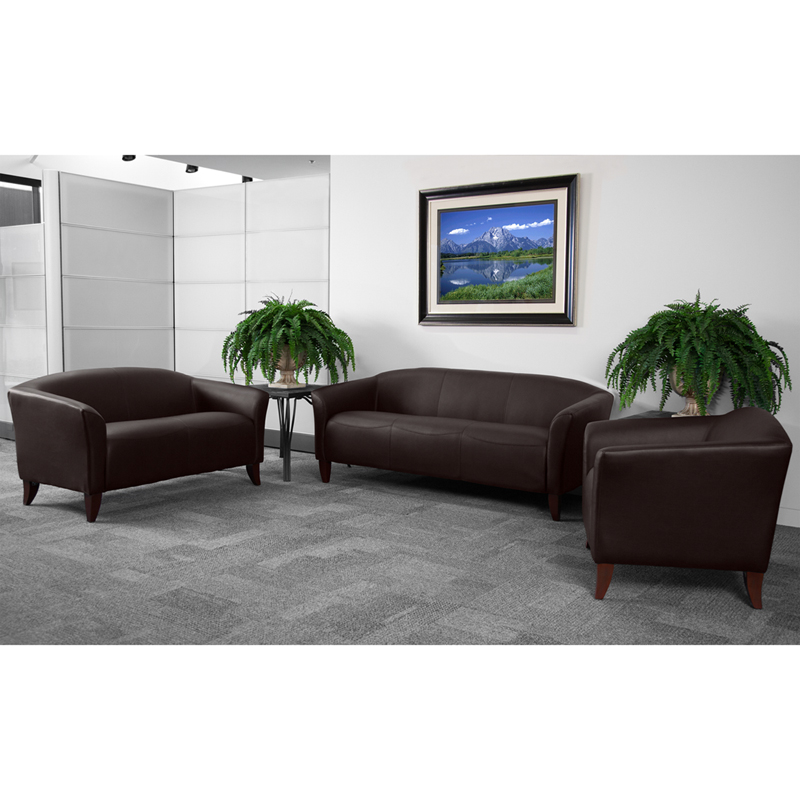 #4 - IMPERIAL SERIES RECEPTION SET IN BROWN