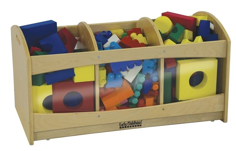 #51 - See & Store Mobile Storage With 3 Compartments