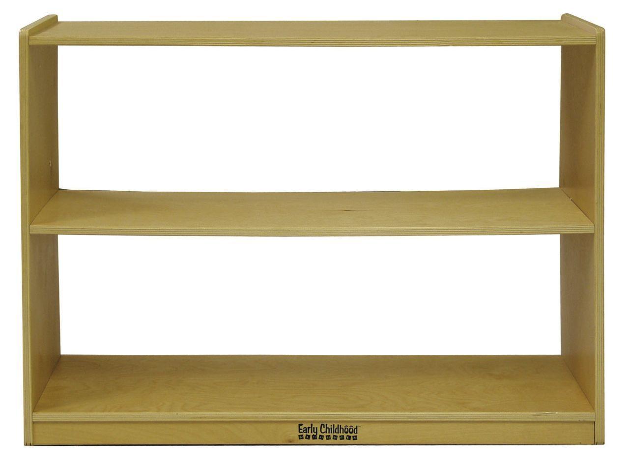 #52 - 2 Shelf Storage Cabinet without Back