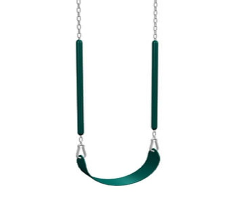 #2 - Belt Swing with Encapsulated Chains in Green