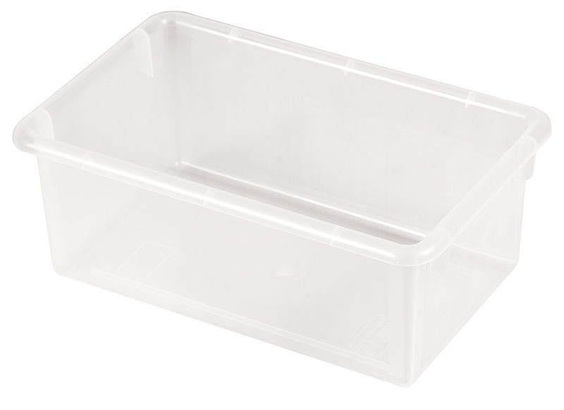 #68 - Heavy Duty Polypropylene Plastic Storage Tubs without Lids in Clear