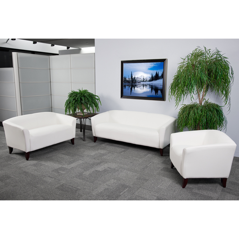 #5 - IMPERIAL SERIES RECEPTION SET IN WHITE