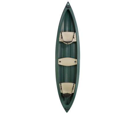 #14 - Wasatch Canoe in Green