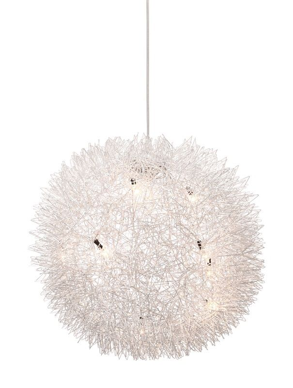 #123 - Modern Style Thistle Like Ceiling Lamp w/Eight 10 Watt Bulbs - Home Decor