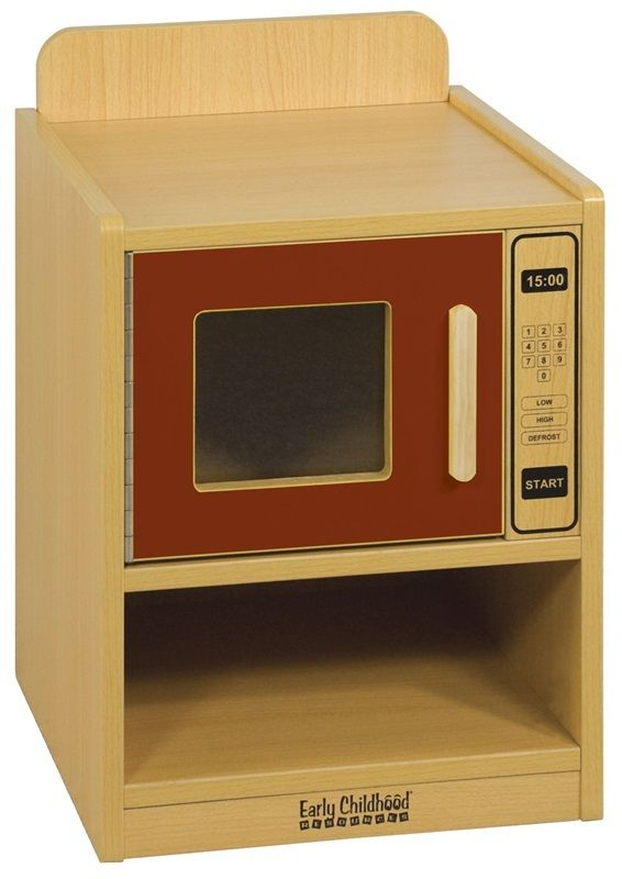 #63 - Play Microwave Oven in Red