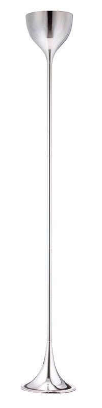 #127 - Modern Gorgeous Teardrop Shape Floor Lamp with a Chrome Finish - Home Decor