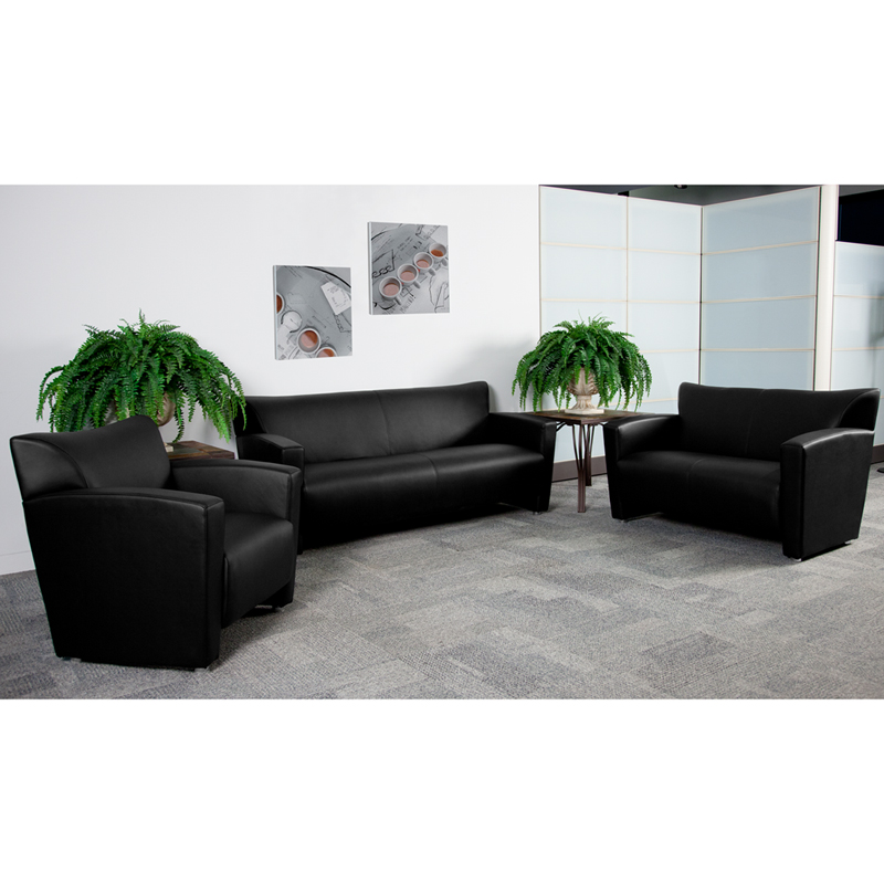 #6 - MAJESTY SERIES RECEPTION SET IN BLACK
