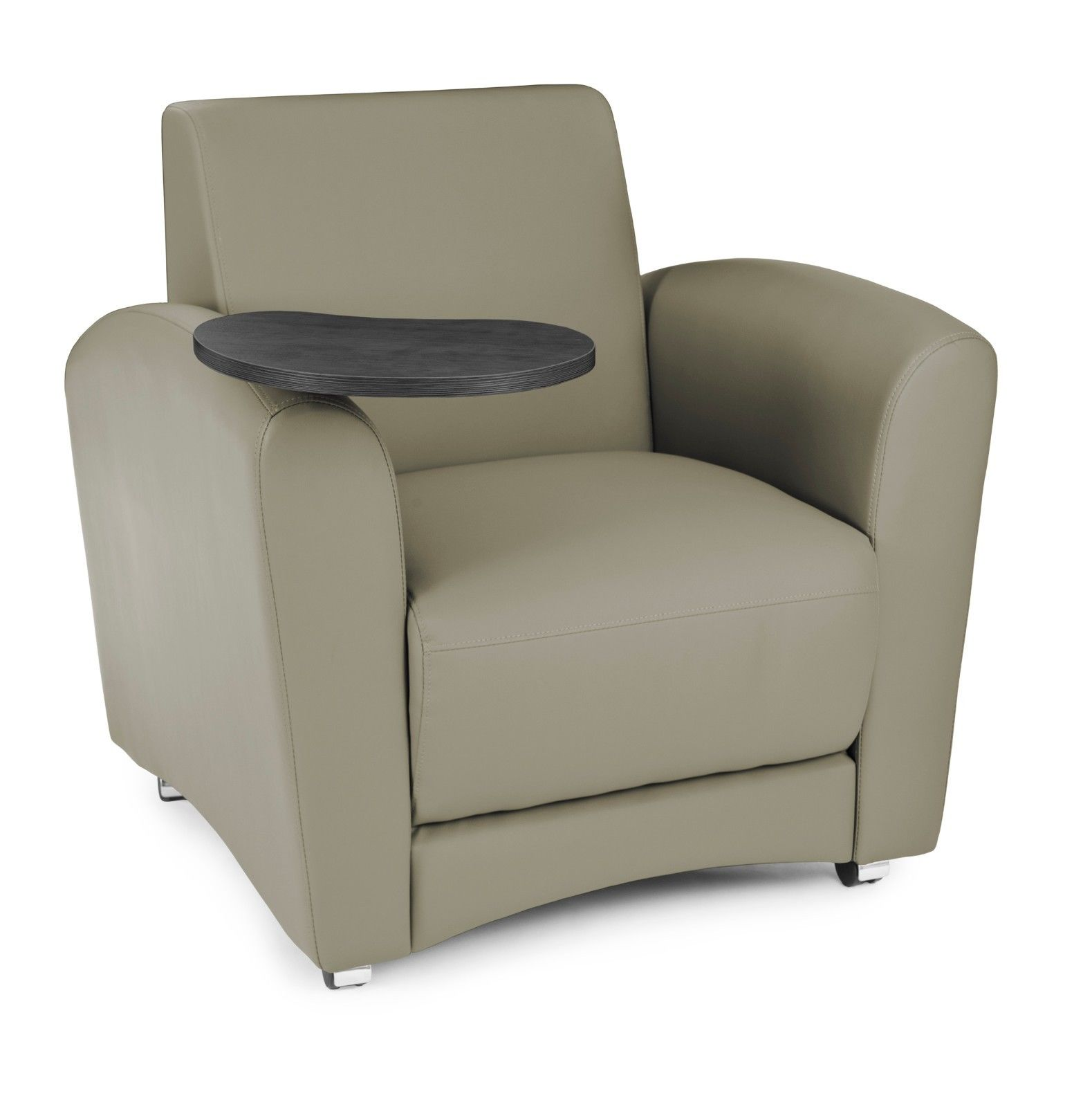 #117 - InterPlay Series Tablet Taupe and Tungsten Lounge Chair