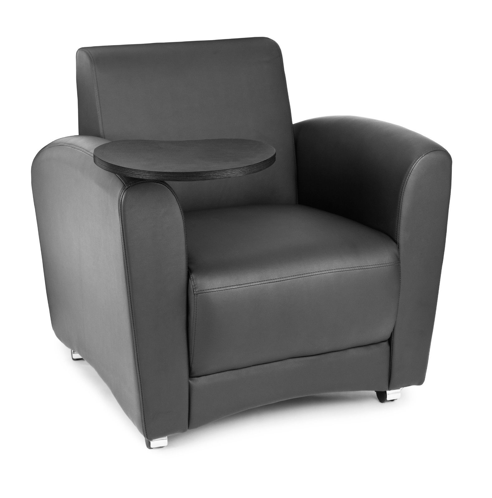 #119 - InterPlay Series Tablet Black and Tungsten Lounge Chair