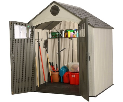 #25 - 8' x 6.5' Outdoor Storage Shed