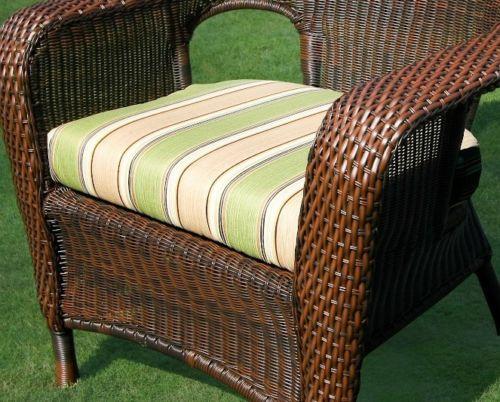 #141 - Outdoor Patio Garden Furniture Java Resin Wicker Dining Chair