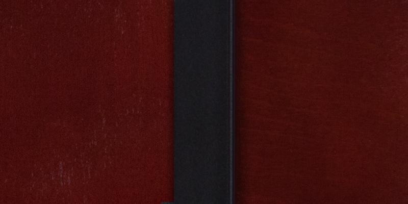 #6 - DECORATIVE SLAT BACK METAL RESTAURANT CHAIR - MAHOGANY WOOD BACK & SEAT