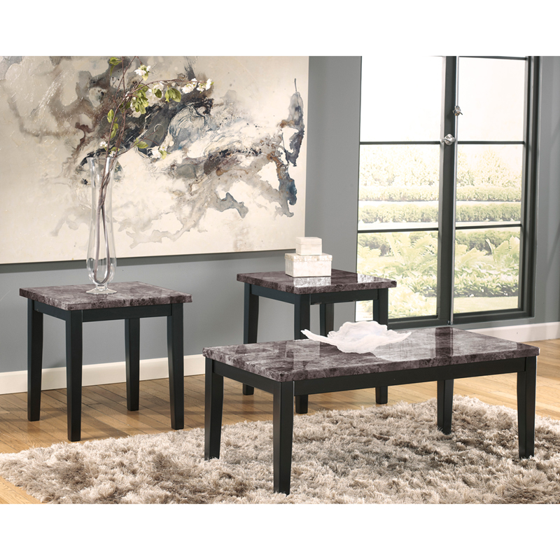 #11 - SIGNATURE DESIGN BY ASHLEY MAYSVILLE 3 PIECE OCCASIONAL TABLE SET