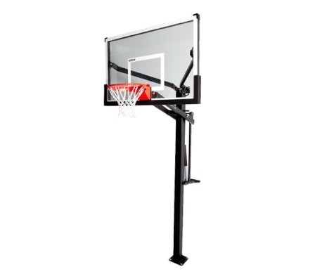 #1 - Mammoth 54 IN. Glass Basketball Hoop