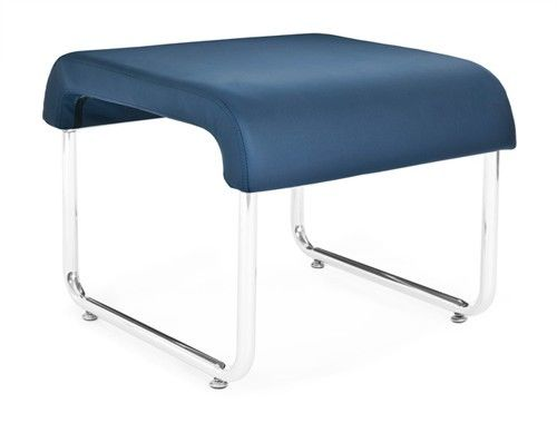 #154 - Uno Series Backless Navy Reception Lounge Seat