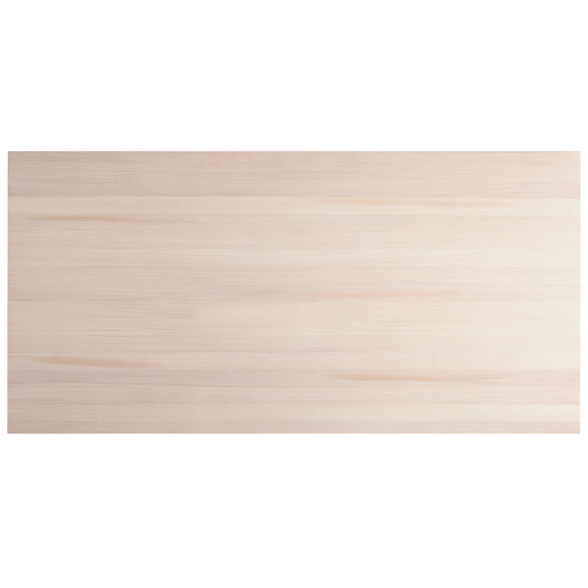 """#52 - 30"""" x 60"""" Solid Wood Live Edge Table Top with Antique White Wash Finish"""