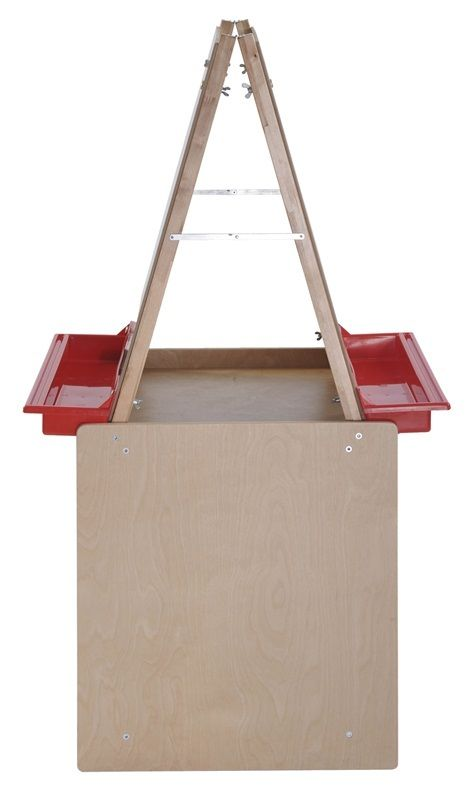 #42 - 2 Station Art Easel with Storage