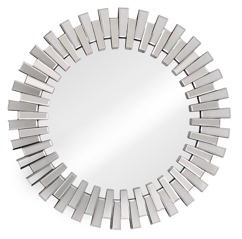 #19 - Cog like Mirror with a Interlocking Design