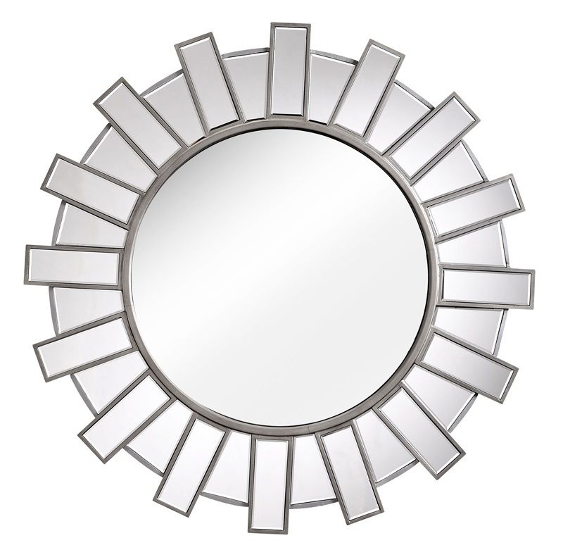#25 - A Modern Reflective Sunburst Mirror Inspired from Ancient Temples
