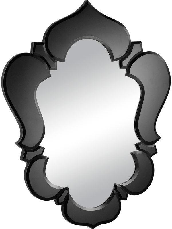 #33 - Modern Glass Mirror with a Black Decorative Trim