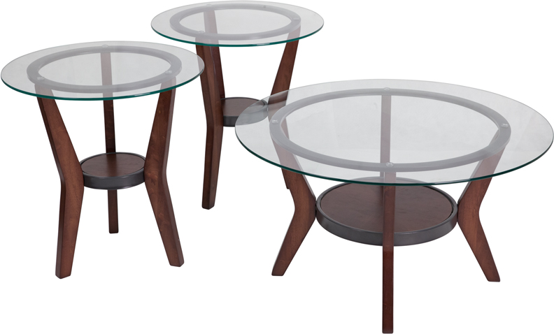 #15 - SIGNATURE DESIGN BY ASHLEY FANTELL 3 PIECE OCCASIONAL TABLE SET