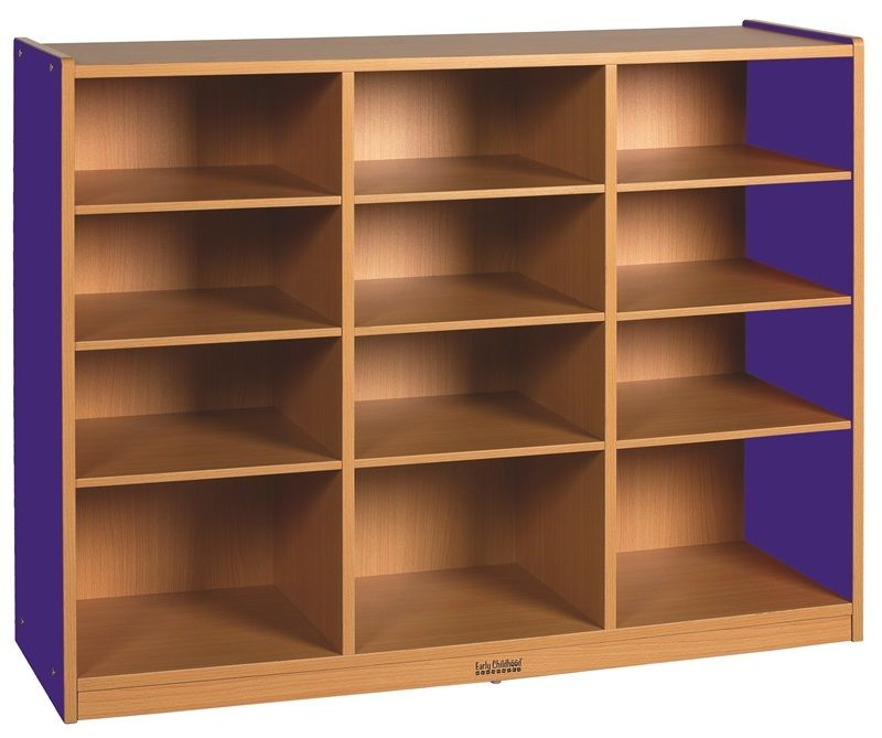 #40 - 12 Compartment Multi-Purpose Cabinet in Blue