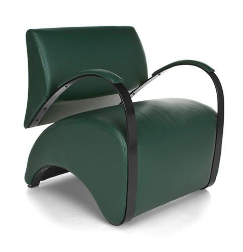 #163 - Recoil Series Dark Green Reception Lounge Chair - Accent Chair