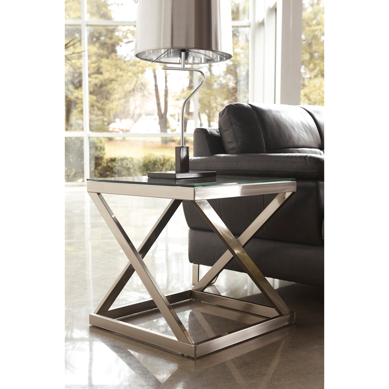 #3 - SIGNATURE DESIGN BY ASHLEY COYLIN END TABLE