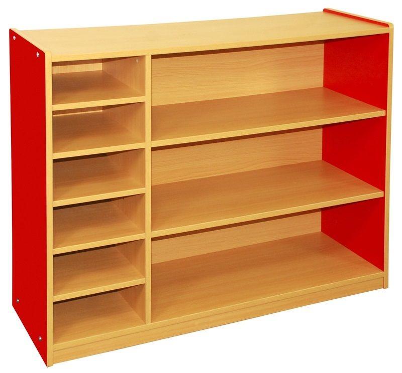 #44 - Multi-Purpose Cabinet-3 Level in Red