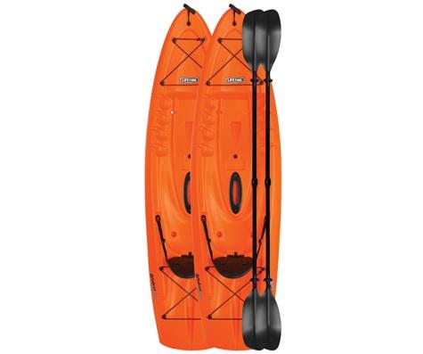 #14 - (2 PACK) Hydros Kayak in Orange