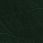 #6 - OXEN GREEN VINYL UPHOLSTERED CROWN BACK BANQUET CHAIR - GOLD VEIN FRAME