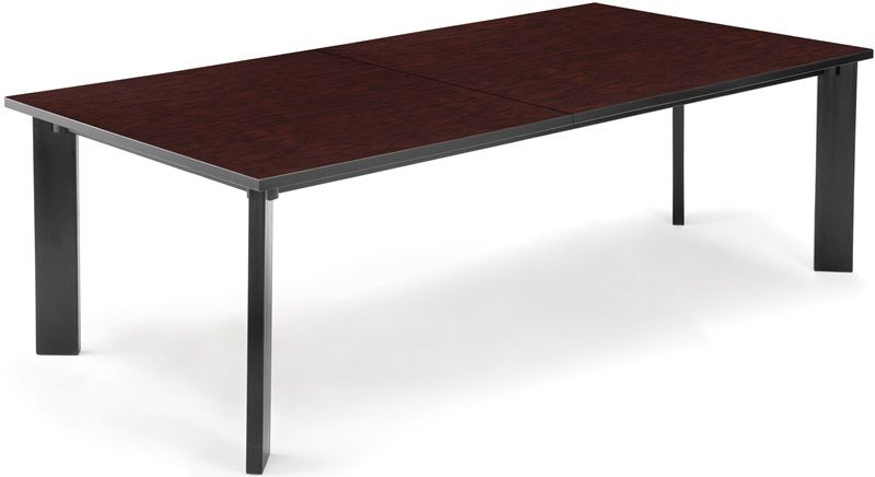 #26 - Conference Table 48'' D x 96'' W in Mahogany Finish