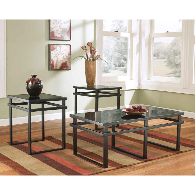 #6 - SIGNATURE DESIGN BY ASHLEY LANEY 3 PIECE OCCASIONAL TABLE SET