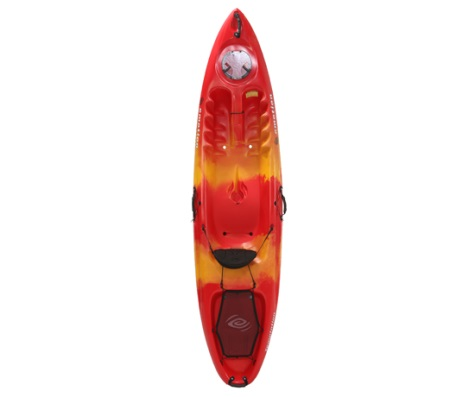 #22 - Temptation Kayak in Red/Yellow