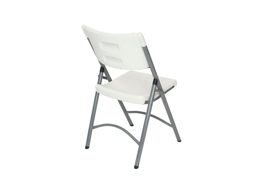 #45 - BLOW MOLDED PLASTIC FOLDING CHAIR