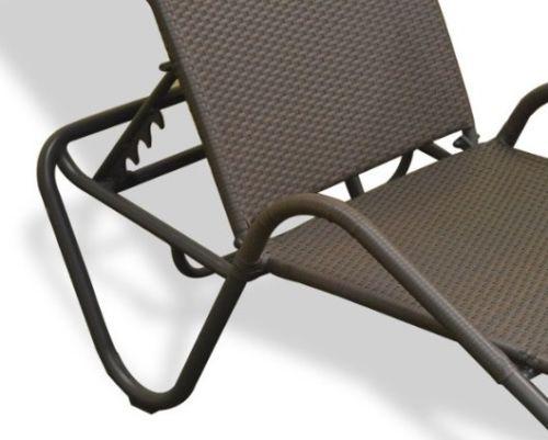 #119 - Outdoor Patio Garden Pool Fiji Resin Wicker Sun Lounger
