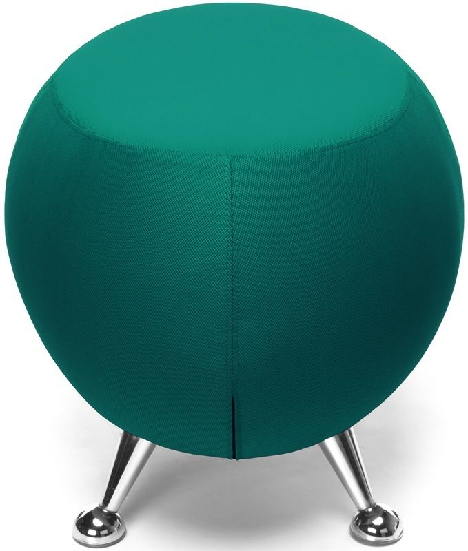 #178 - Contemporary Modern Office or Reception Lounge Stool in Green