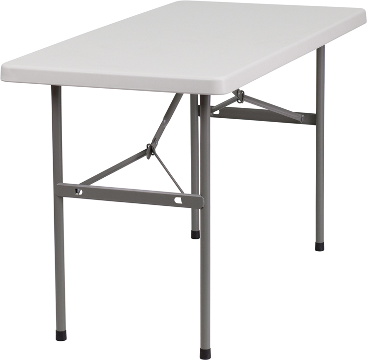 "#9 - 24"" X 48"" PLASTIC FOLDING TABLE"
