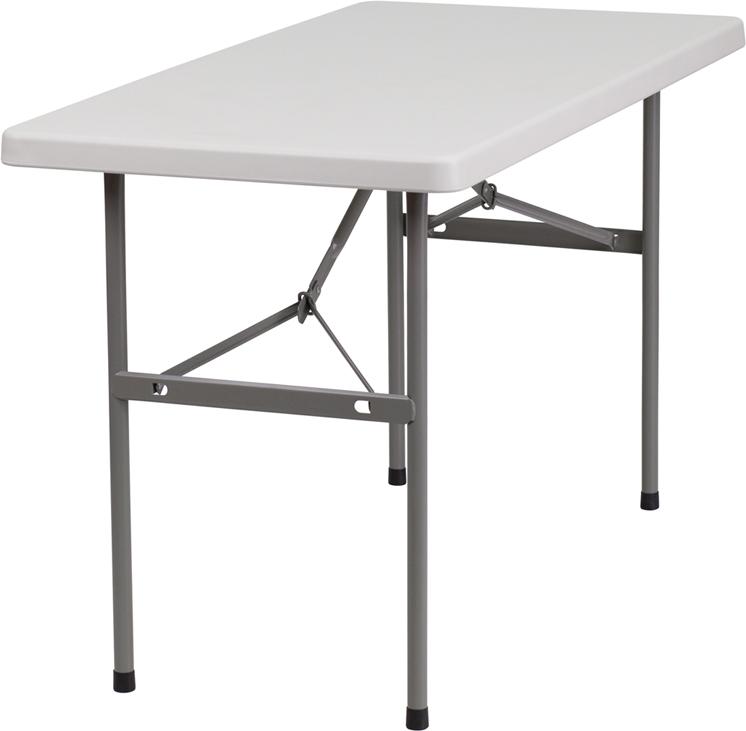 "#9 - 24"" X 48"" PLASTIC FOLDING TABLE"