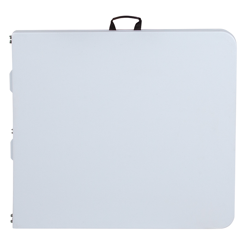 #11 - 30''W X 60''L PLASTIC BI-FOLDING TABLE