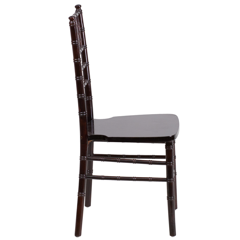 #2 - WALNUT WOOD CHIAVARI CHAIRS - FREE SEAT CUSHIONS