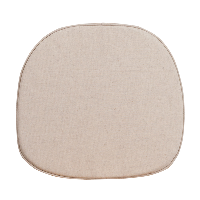 #26 - KID'S NATURAL THIN SEAT CUSHION FOR CROSS BACK  CHAIR
