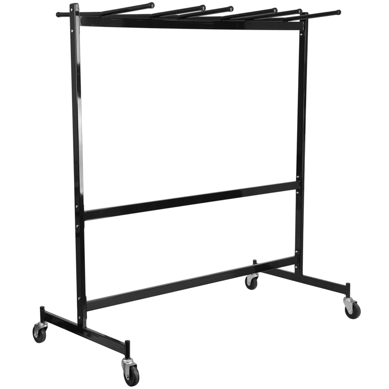 #44 - Hanging Folded Chair and Table Storage Truck