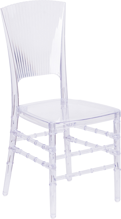 #24 - CRYSTAL ICE STACKING CHAIR