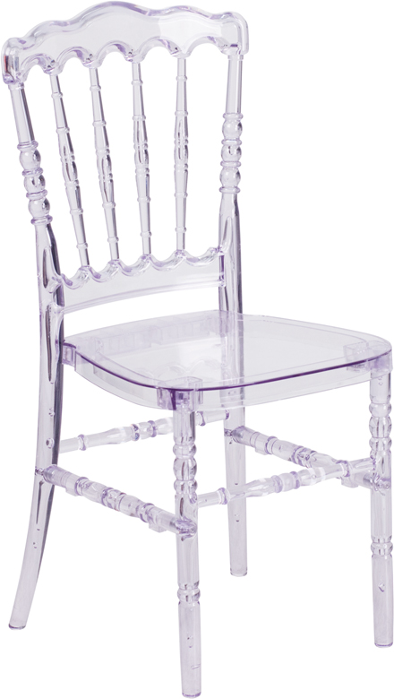 #21 - CRYSTAL CLEAR NAPOLEON CHAIR